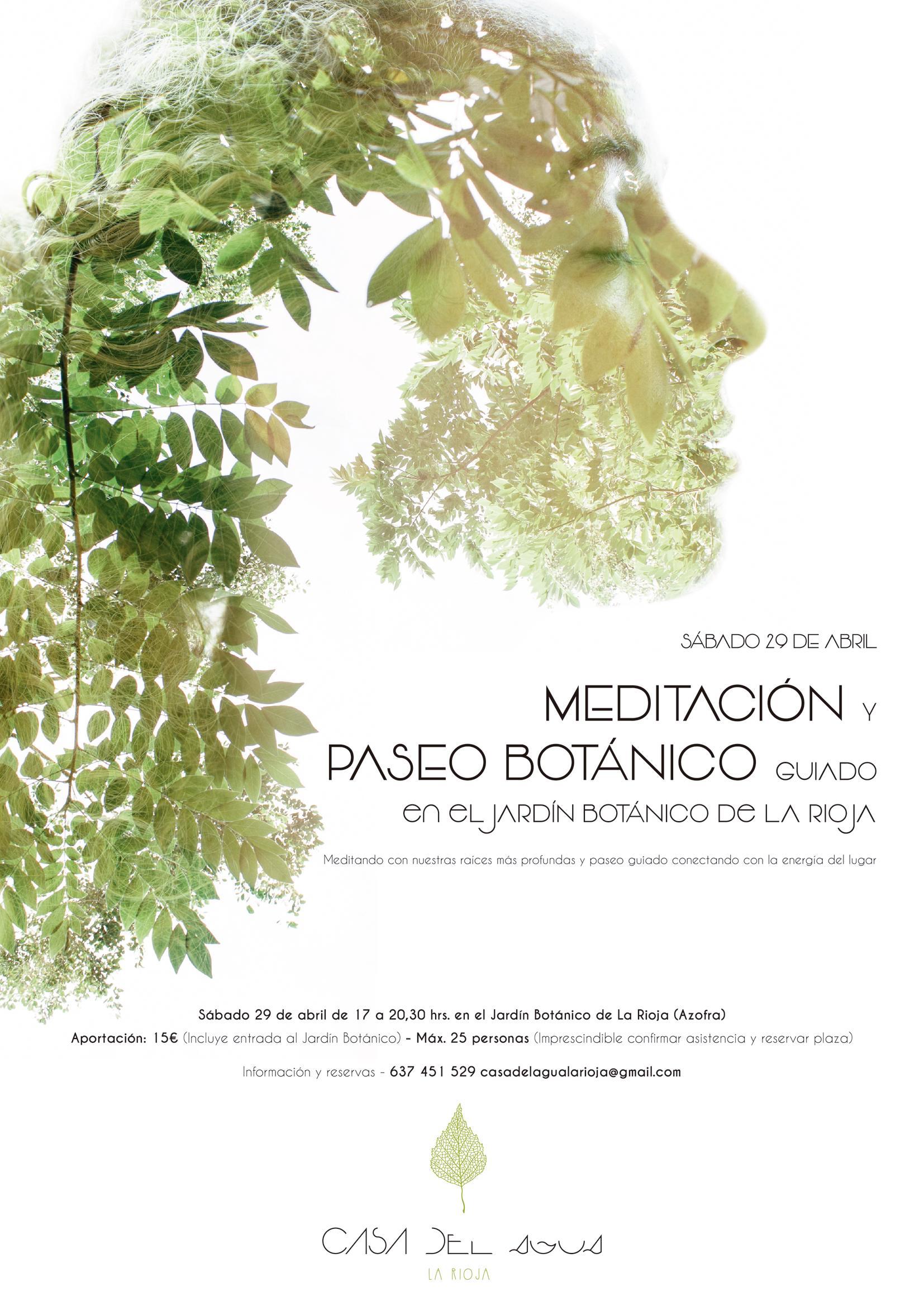 Meditacion y paseo Jardin Botanico La Rioja- 29 Abril
